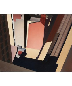 Charles Sheeler, Church Street El, 1920