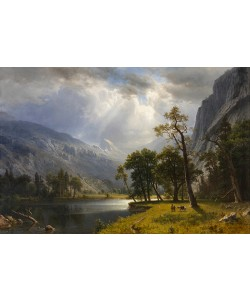 Albert Bierstadt, Yosemite Valley, 1866