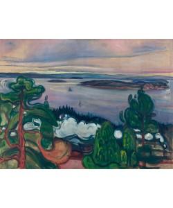 Edvard Munch, Train Smoke 1900