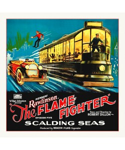 Hollywood Photo Archive, Flame Fighter, 6 sheet, 1925