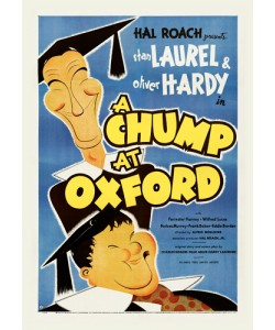 Hollywood Photo Archive, Laurel & Hardy - A Chump At Oxford