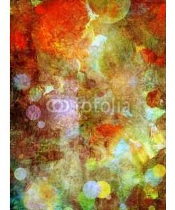 bittedankeschön, gemalter hintergrund - mixed media