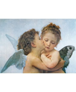 William Adolphe Bouguereau, First Kiss