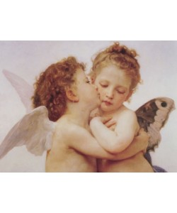 William Adolphe Bouguereau, The first Kiss