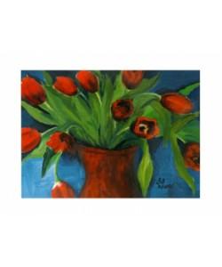 Brandt Birgit, Tulpen in Rot