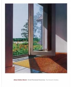 Alice Dalton Brown, Small Flowered Doorway