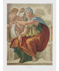Michelangelo, Die Delphische Sibylle