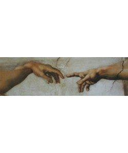 Michelangelo, Die Erschaffung des Adam (Detail)
