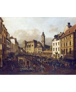 Giovanni Antonio Canaletto, Die Freyung in Wien