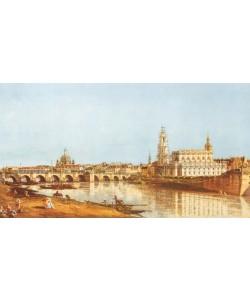 Giovanni Antonio Canaletto, Dresden, Elbufer