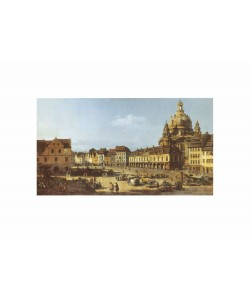 Giovanni Antonio Canaletto, Dresden, Neumarkt