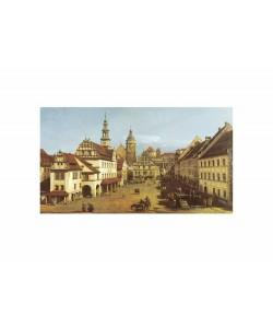 Giovanni Antonio Canaletto, Marketplace In Pirna