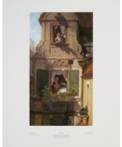 Carl Spitzweg, Der abgefangene Liebesbrief
