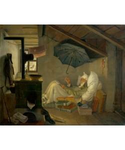 Carl Spitzweg, Der arme Poet