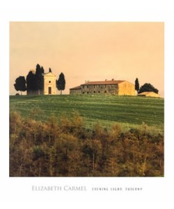 Elisabeth Carmel, Evening Light, Tuscany