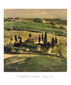 Elisabeth Carmel, Tuscan Villa
