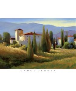 Carol Jessen, Blue Shadow in Tuscany I
