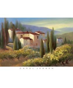 Carol Jessen, Blue Shadow in Tuscany II