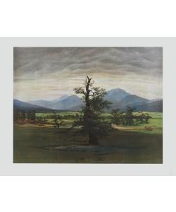 Caspar David Friedrich, Der einsame Baum (Kupfertiefdruck)