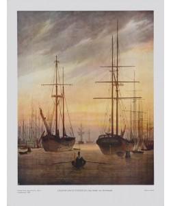 Caspar David Friedrich, Der Hafen von Greifswald