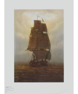 Caspar David Friedrich, Segelschiff