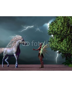 Catmando, Fairy and Unicorn