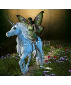 Catmando, Forest Fairy and Unicorn