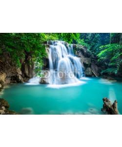 calcassa, Huay Mae Kamin Waterfall in Kanchanaburi province, Thailand