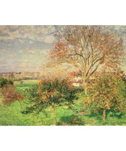 Camille Pissarro, Herbstmorgen in Eragny