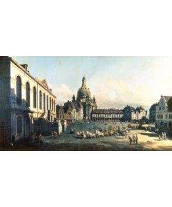 Giovanni Antonio Canaletto, Der Neue Markt in Dresden