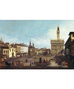 Giovanni Antonio Canaletto, Die Piazza della Signorina in