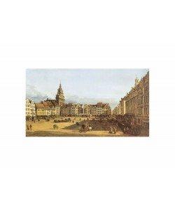 Giovanni Antonio Canaletto, Dresden, Altmarkt