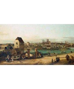 Giovanni Antonio Canaletto, München, von Haidhausen aus