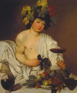 Michelangelo Caravaggio, Junger Bacchus
