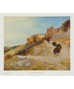 Carl Eduard Ferdinand Blechen, Aufstieg nach Narni