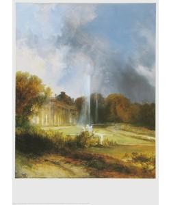 Carl Eduard Ferdinand Blechen, Schloss Sanssouci, um 1830/32