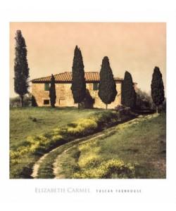 Elisabeth Carmel, Tuscan Farmhouse