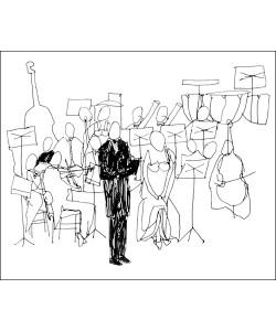 Cédric Chauvelot, Concertino, 2009 (Büttenpapier)