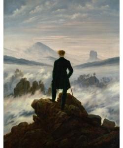 Caspar David Friedrich, Der Wanderer über dem Nebelmeer