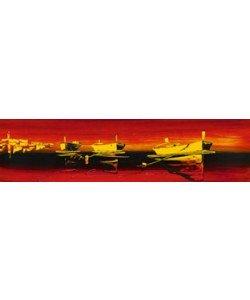 Irene Celic, Tre barche nel rosso II