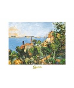 Paul Cézanne, La Mer a l'Estaque