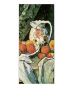 Paul Cézanne, Stilleben mit Früchten (Detail)