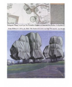 Christo & J.C., Wrapped Trees Nr.II
