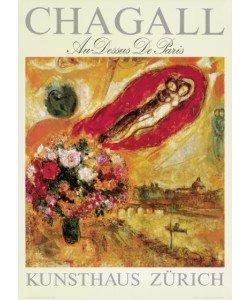 Marc Chagall, Au-Dessus De Paris