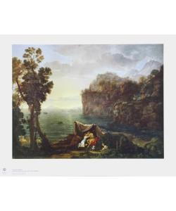 Claude Claude Lorrain, Küstenlandschaft mit Acis und Galatea