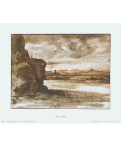 Claude Claude Lorrain, Tiberlandschaft nördlich von Rom