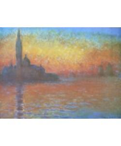 Claude Monet, Venedig, San Giorgio Maggiore in Abenddämmerung, 1908