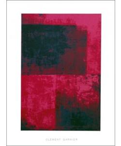 Clément Garnier, Surface 2, (red) (Büttenpapier)