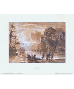 Claude Claude Lorrain, Landung des Aeneas in Latium