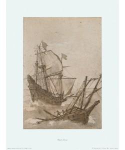 Claude Claude Lorrain, Schiffe im Sturm